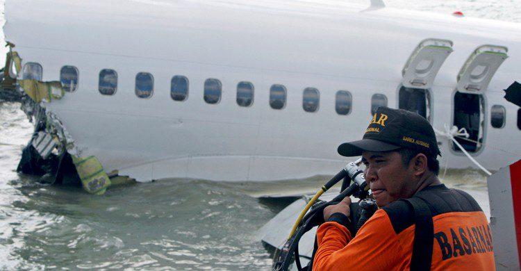 Indonesia presenta uno de los promedios de accidentes de avión más altos del mundo (Gtresonline)