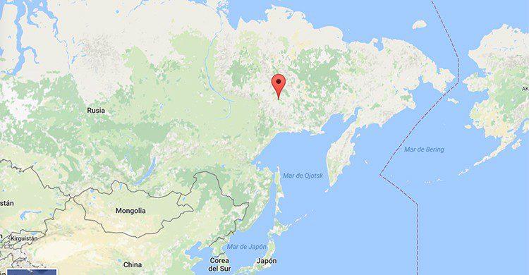 Oymyakon (Google Maps)