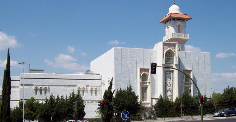 Mezquita de la M-30 en Madrid (wikimedia.org)