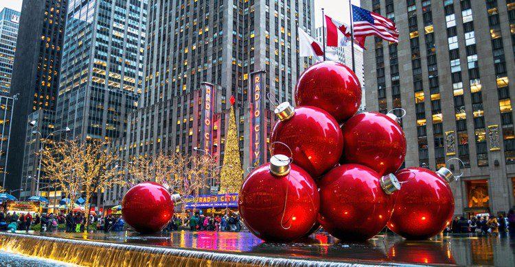 Nueva York es un destino aún más especial en Navidad (iStock)