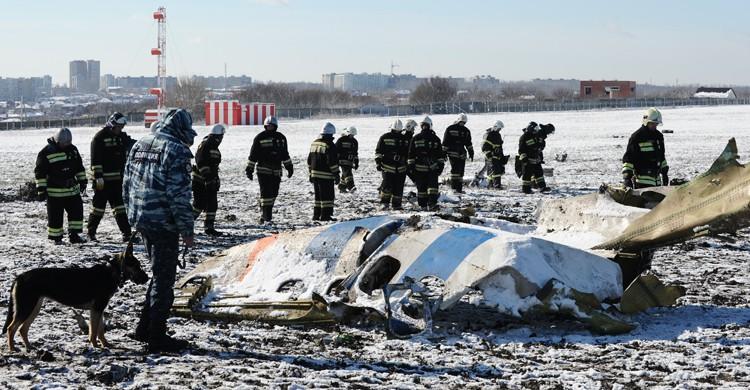 Imagen del avión siniestrado recientemente en Rostov, en Rusia (Gtresonline)