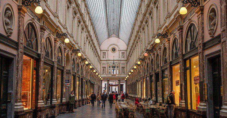 Galerías Royales Saint-Hubert de Bruselas. AmzPhoto (iStock)