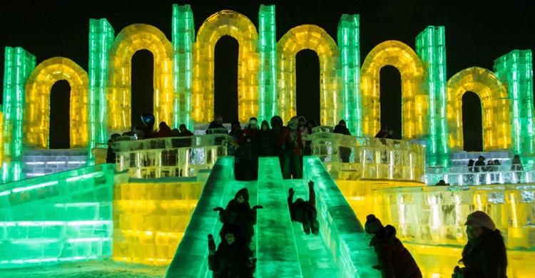 Toboganes en Harbin (La Priz, Foter)
