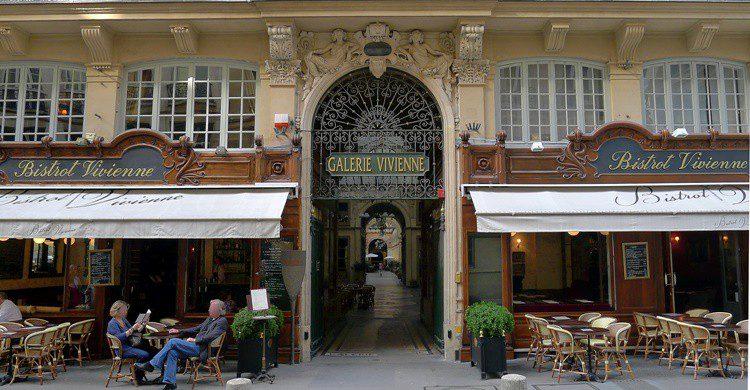 Galerie Vivienne de París. Mbzt (Wikipedia Creative Commons)