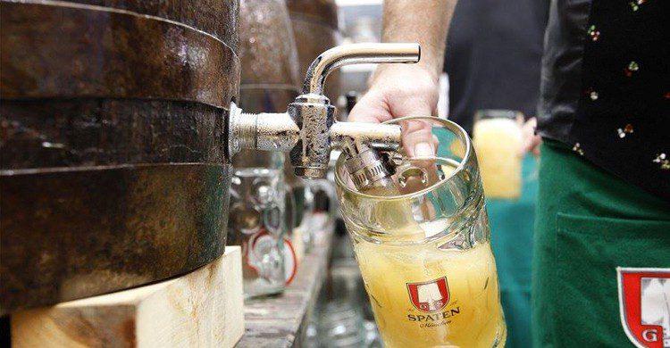Cerveza de barril (Cervecería L'Europe, Facebook)