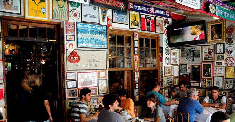 Entrada al bar (São Cristovão Bar e Restaurante, Facebook)