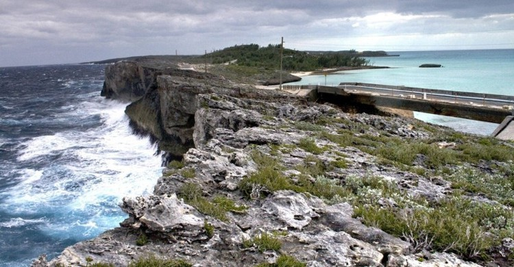 Glass Window Bridge en Eleuthera