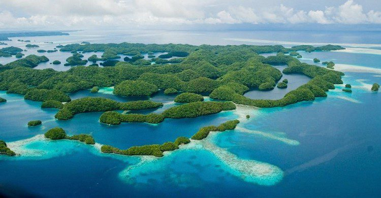 Islas rocosas de Palaos (aussieSkiBum, Foter)