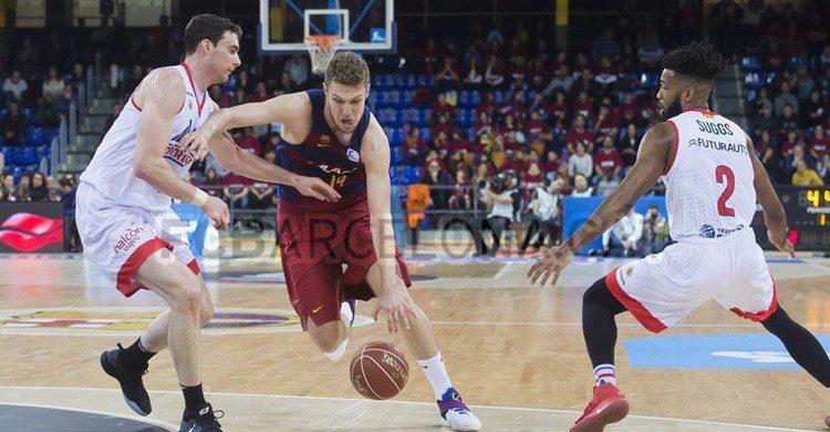 Partido de baloncesto del Barcelona en el Palau (https://www.fcbarcelona.es/secciones/baloncesto)