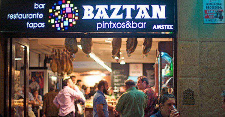 Bar Baztán en San Sebastián. (http://www.barbaztan.com)