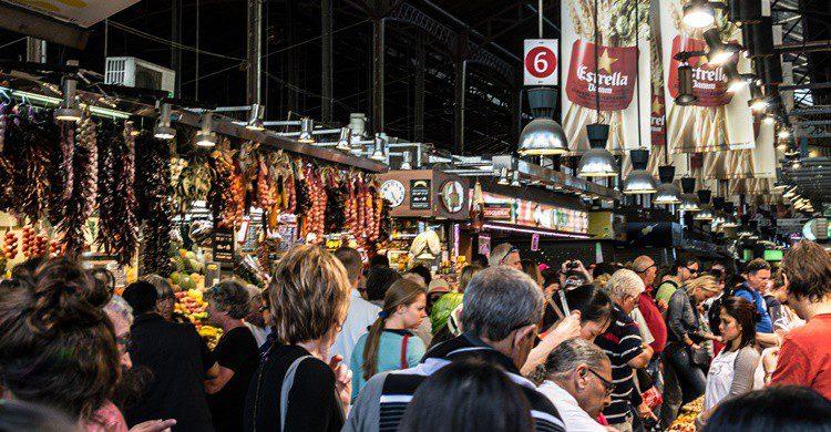 Mercado de la Boquería. Dconvertini (Flickr)