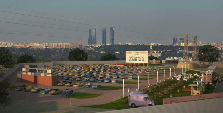 El Autocine Madrid RACE