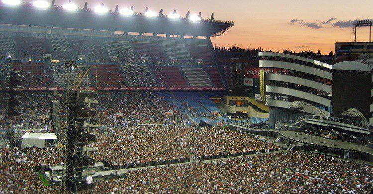 Concierto de los Rolling Stones en el Calderón. Martin Varsavsky (Flickr)