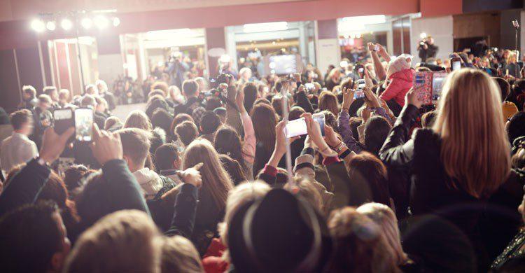 imagen del cine antes de la sesión nocturna