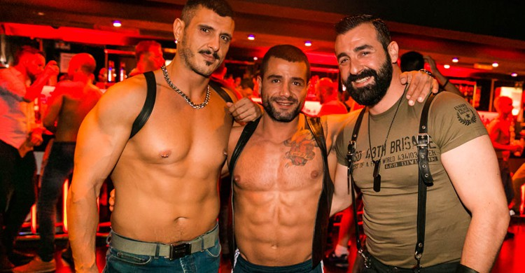 Imagen de una fiesta gay