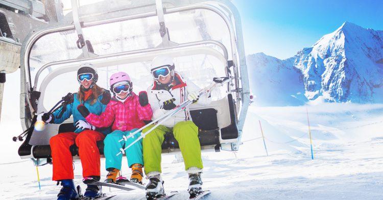 Esquiar en marzo (Shutterstock)