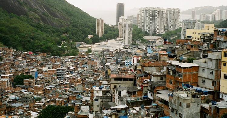 Vista de Rocinha
