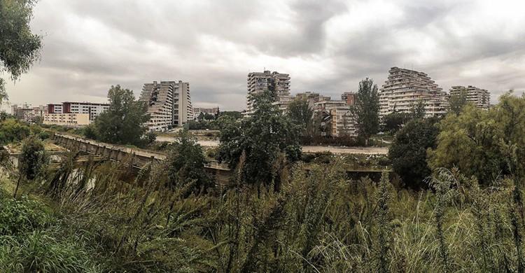 Vista de Scampia, Secondigliano