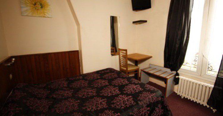 Imagen de una de las habitaciones del hotel Wattignies (http://www.wattignieshotelparis.com/es/)