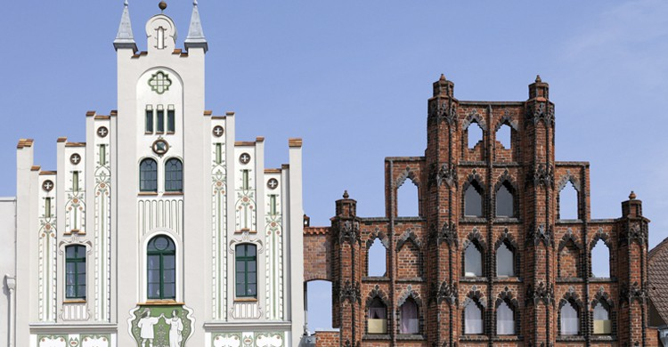 Ejemplo de la ornamentación de Wismar