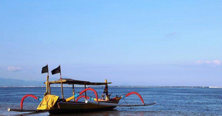 Barco de Indonesia