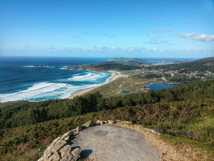 Playa en Galicia