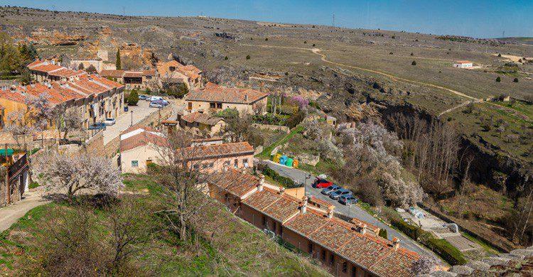 calles de la villa de Sepúlveda provincia Segovia