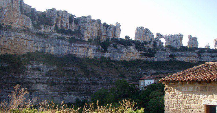 Vista del entorno del pueblo. Roberto Lumbreras (Flickr)