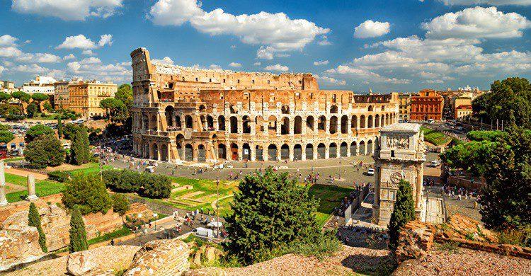 Vista del famoso Coliseo. Scaliger (iStock)