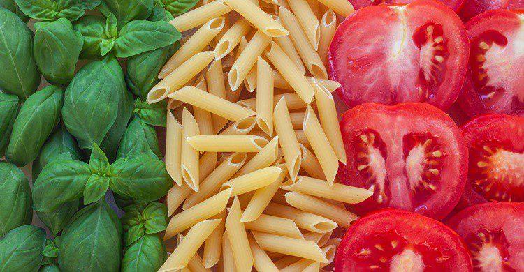 Colores de Italia con alimentos tradicionales. Minoandriani (iStock)