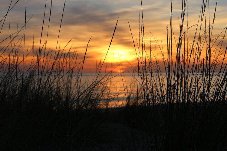 Puesta de sol en Cádiz (Pixabay)