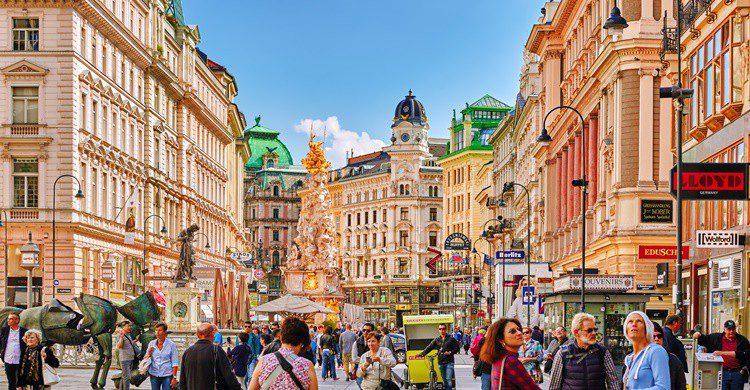 Vista del centro de Viena. VitalyEdush (iStock)