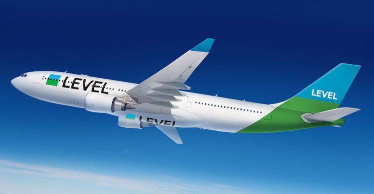 Uno de los aviones de LEVEL (Web de Fly LEVEL)