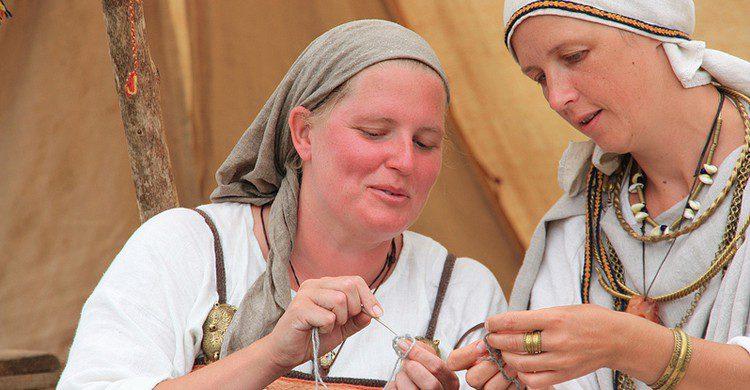 Mujeres vikingas (Liga Eglite, Foter)