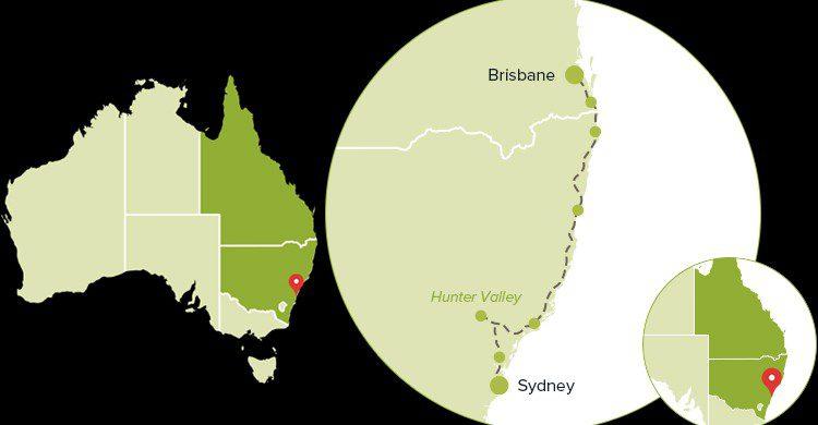 Mapas de la carretera en Australia (Web de www.australia.com)
