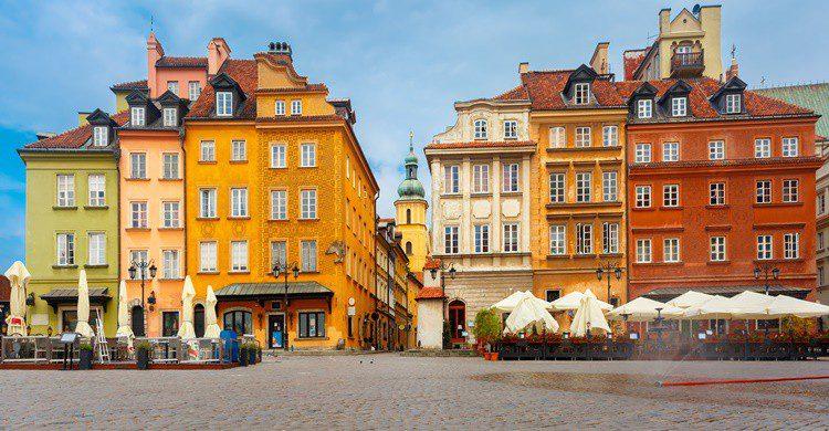 Vista del centro de Varsovia. KavalenkavaVolha (iStock)