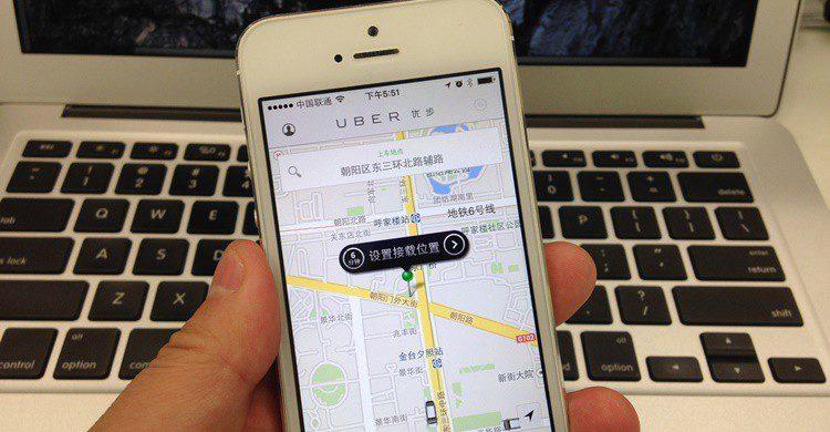 Aplicación de Uber en China. Julien GONG Min (Flickr)