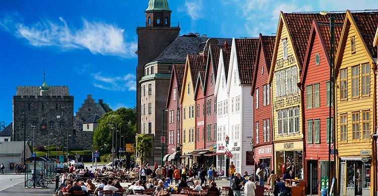 ciudades de Noruega