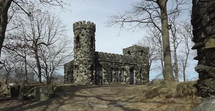 Castillo abandonado en Italia