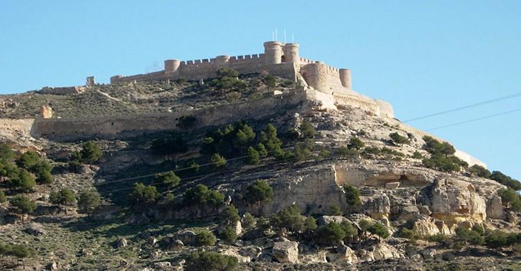 Vistas del Chinchilla de Montearagón, Albacete