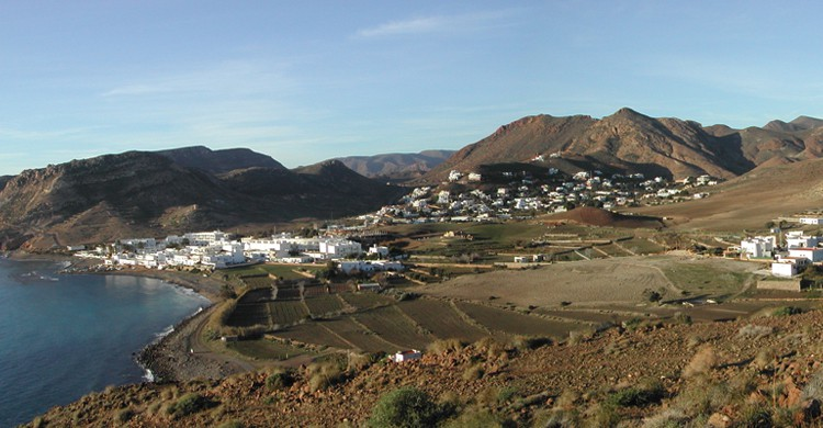 Las Negras desde el Cerro Negro (ferran_casarramona, Foter)