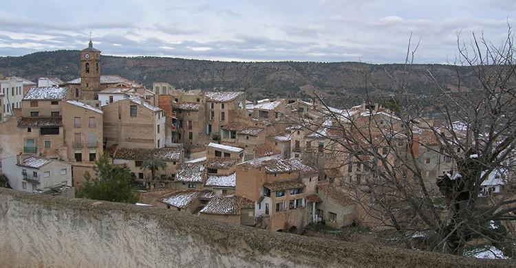 Vistas del pueblo de Letur, Albacete