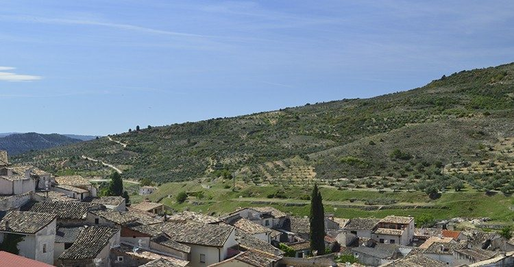Vistas del pueblo con encanto de Pastrana, Guadalajara(Istock)
