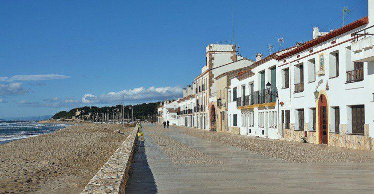Paseo marítimo de Altafulla. Alberto Gonzalez Rovira (Flickr)