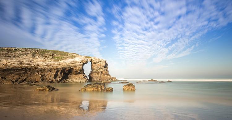 Playa de las Catedrales, Ribadeo, Galicia