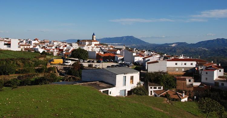 Vistas de Yunquera, Málaga