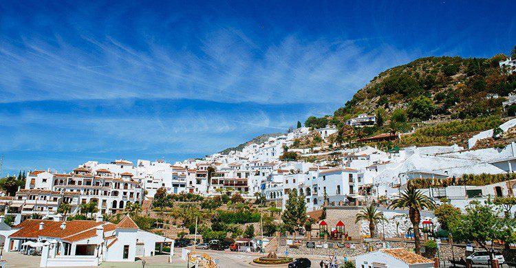 Vistas de Frigiliana, Málaga