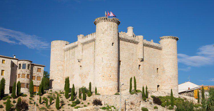 Castillo de Torija en verano