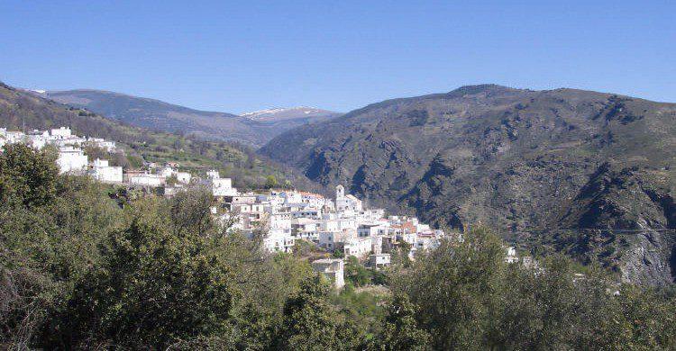 Mecina Bombarón en la Sierra Nevada