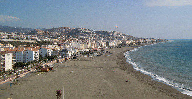 Playa en Rincón de la Victoria. Cayetano (Flickr)